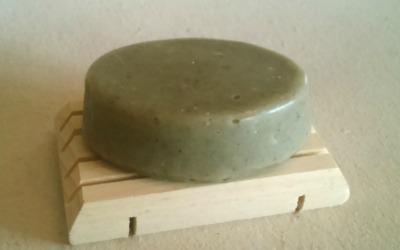Savon purifiant à l'argile verte 2